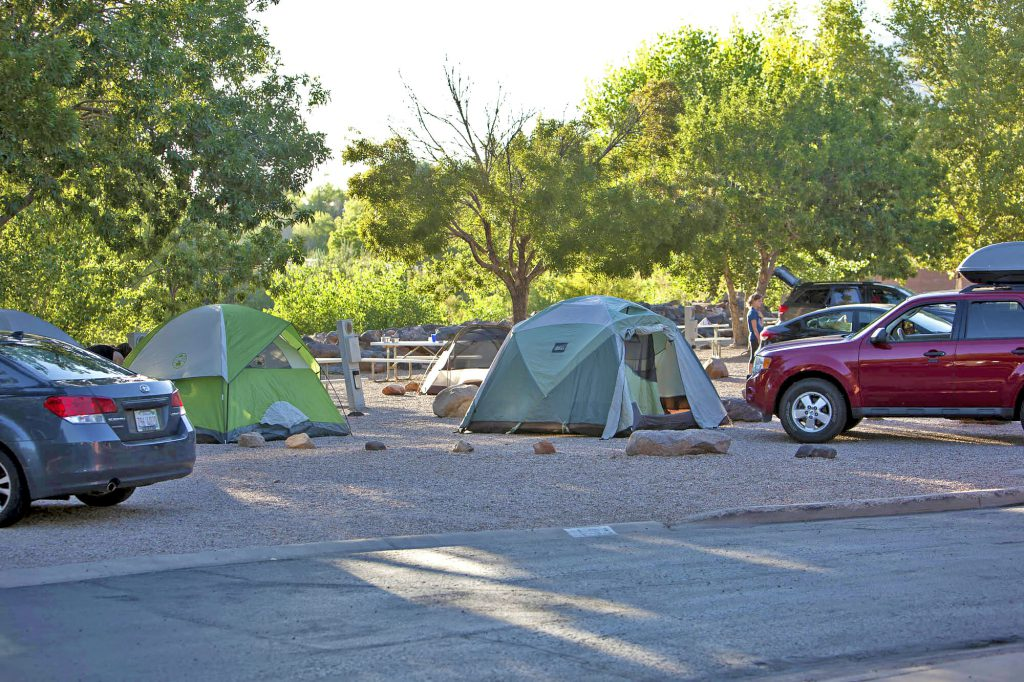 Tent Sites at Zion River Resort RV Park & Campground